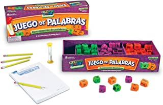 Learning Resources Juego de Palabras Spanish Reading Rods Word Game