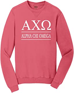 Alpha Chi Omega Vintage Color Crewneck Sweatshirt