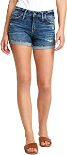 Silver Jeans Co. Women's Suki Mid Rise Short