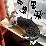 KADUNDI Hamaca para Ventana de Gato o Perca, cómoda Cama para Dormir con...