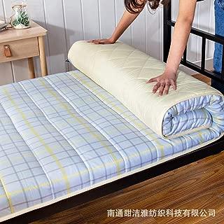 zlzty Foldable Mattress Single, Printed Washed Mattress Student Dormitory Mattress, Foldable Tatami Mattress, Foldable Mattress Travel Cot@A_180200cm