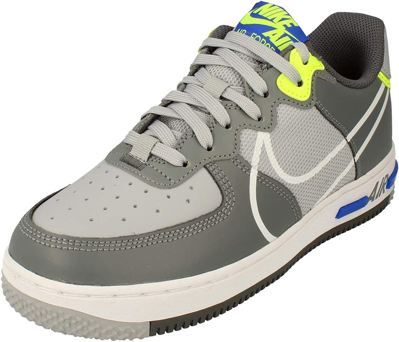 Nike Air Force 1 React (GS), Scarpe da Basket Bambino