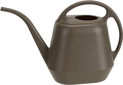 Fasmov Plastic Watering Can, Deep Gray, 1-Gallon