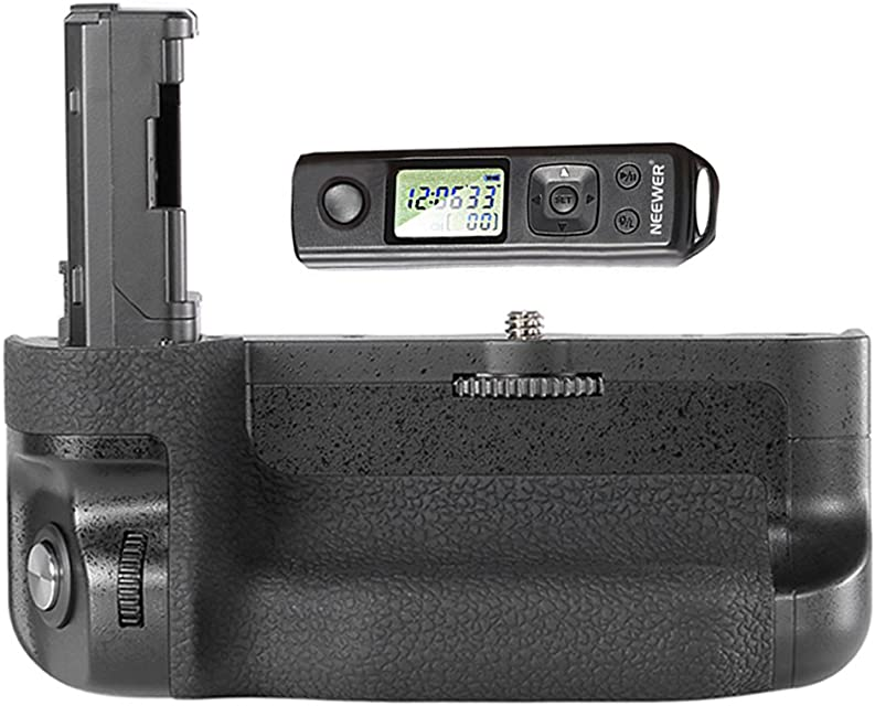 Neewer® - Mando a Distancia inalámbrico LCD de 24 GHz para cámaras Sony A7 II y A7R II