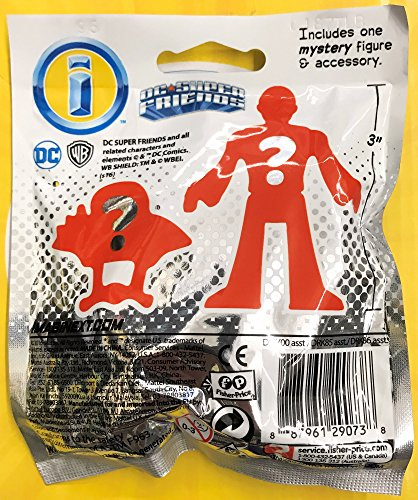 Imaginext DMY00 DC Super Friends Blind Bag, Multi (Packaging May Vary)