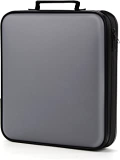 Porta CD,Coofit 160 porta cd Auto Disco Porta DVD Estuche CD Porta CD Custodia Porta DVD Portatile Portacd e DVD Porta DVD...