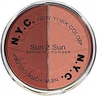 NYC Sun 2 Sun Duo Bronzing Powder - 718A Bronze Mist