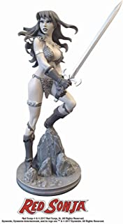 Dynamite Red Sonja by Amanda Conner Black & White Statue