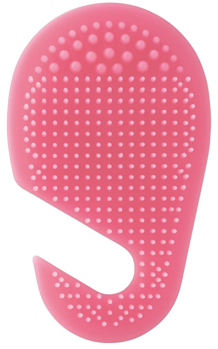 修士号ジョグ求めるスケーター 足の裏用 マッサージ ブラシ 10.2×2×17cm ピンク SLFT1