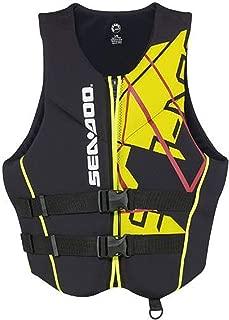 Large BRP Sea-Doo Mens Ecoprene Airflow PFD Life Vest Jacket