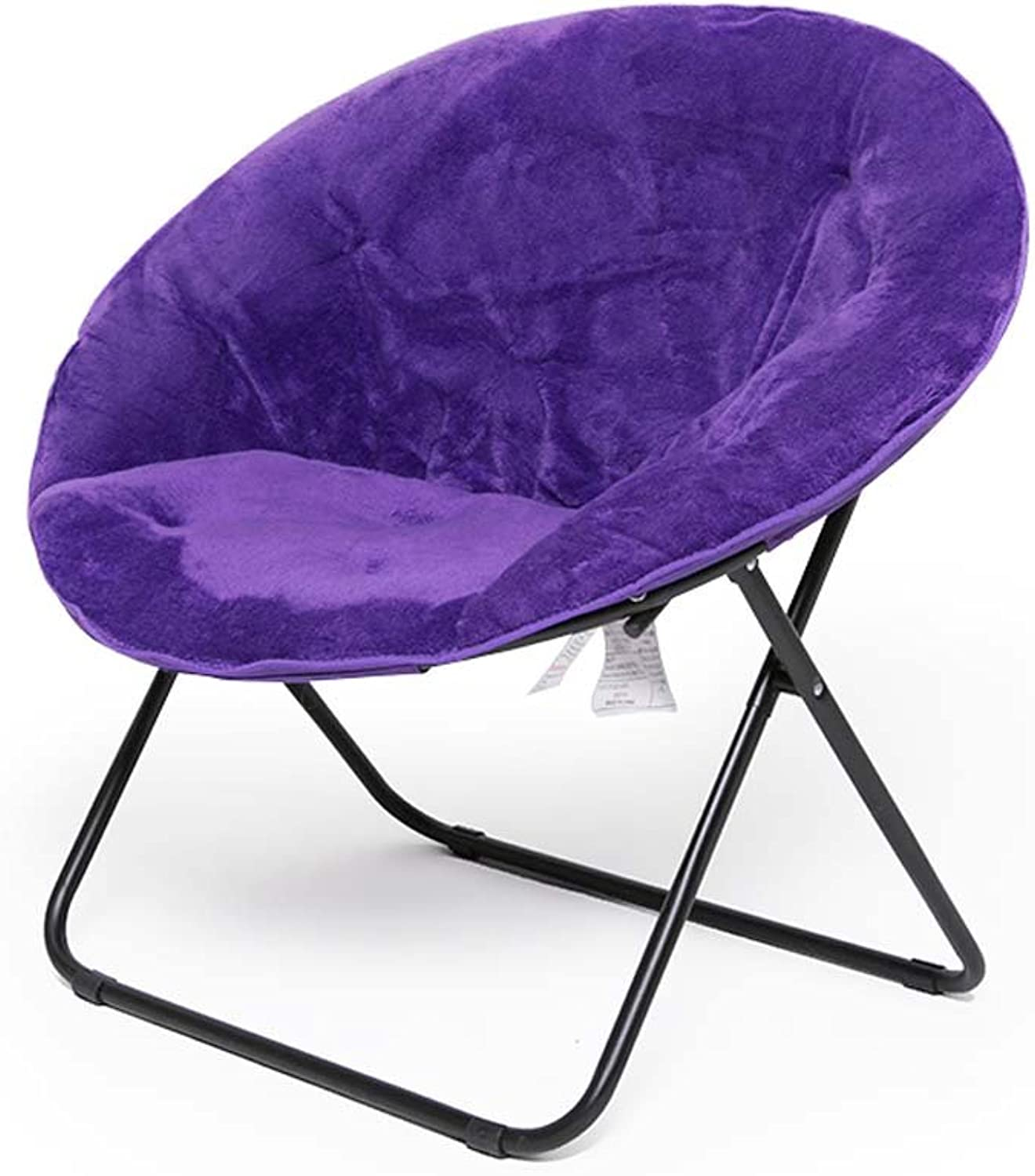Moon Chairs Stühle Für Erwachsene Liegestühle Liegestühle Liegestühle Lazy Chair Radar Chair Lounge Chair Klappstühle Runde Stühle Sofa Chair Oxford Gewebe Thick Upright Cotton Steel,lila B07C2M61V2 | Outlet Store Online  a87186