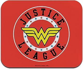 Justice League Wonder Woman Athletic Logo Low Profile Thin Mouse Pad Mousepad