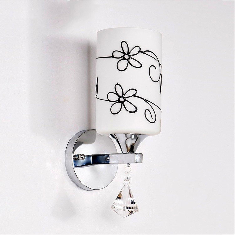 Modern LED Wandleuchte Kreative wandleuchte warme led nachttischlampe schlafzimmer wohnzimmer lampe gang flur treppe balkon breite 10 cm hoch 28 cm kaffee.Vintage Retro Café Loft Bar Flurlampe.