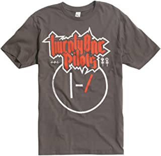 Twenty One Pilots Metal Logo T-Shirt