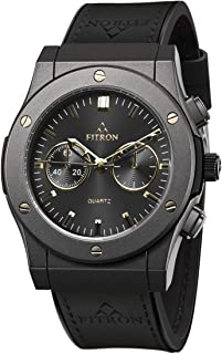 Fitron Casual Watch For Men Analog Silicone - 8433M
