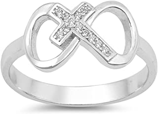eace5ad50cd1c Amazon.com: Religious - Promise Rings / Wedding & Engagement ...