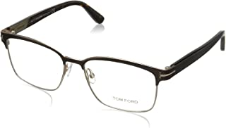 4e321154d620e Tom Ford FT5323 Square Metal Optical Brown Rose Gold Eyeglasses TF5323 048  New