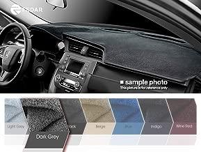 Fedar for 2000-2005 Chrysler PT Cruiser Dashboard Cover Mat Pad-Dark Grey-Dark Grey