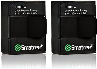 Smatree Batería de Alta Capacidad 1290mAH (paquete de 2) para GoPro HERO 3+ HERO 3 GoPro AHDBT-201 / AHDBT-301 / AHDBT-302