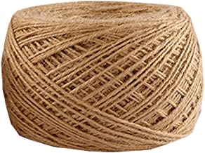 Natural Jute Rope 300 Meters(984 ft) 2mm Hemp Rope for Arts Crafts Gift Wrapping