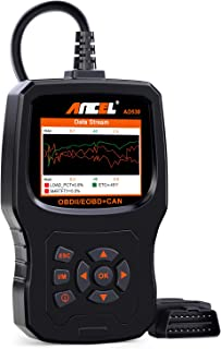ANCEL AD530 Vehicle OBD2 Scanner Car Code Reader Diagnostic Scan Tool with Enhanced Code Definition and Upgraded Graphing ...