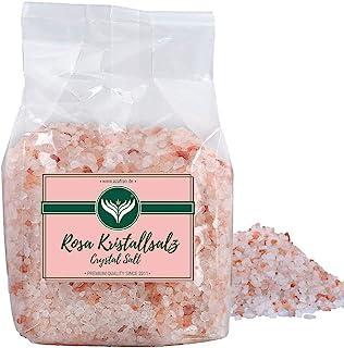 Azafran Rosa Kristallsalz bekannt als Himalaya Salz Steinsalz grob 2-5mm 1kg