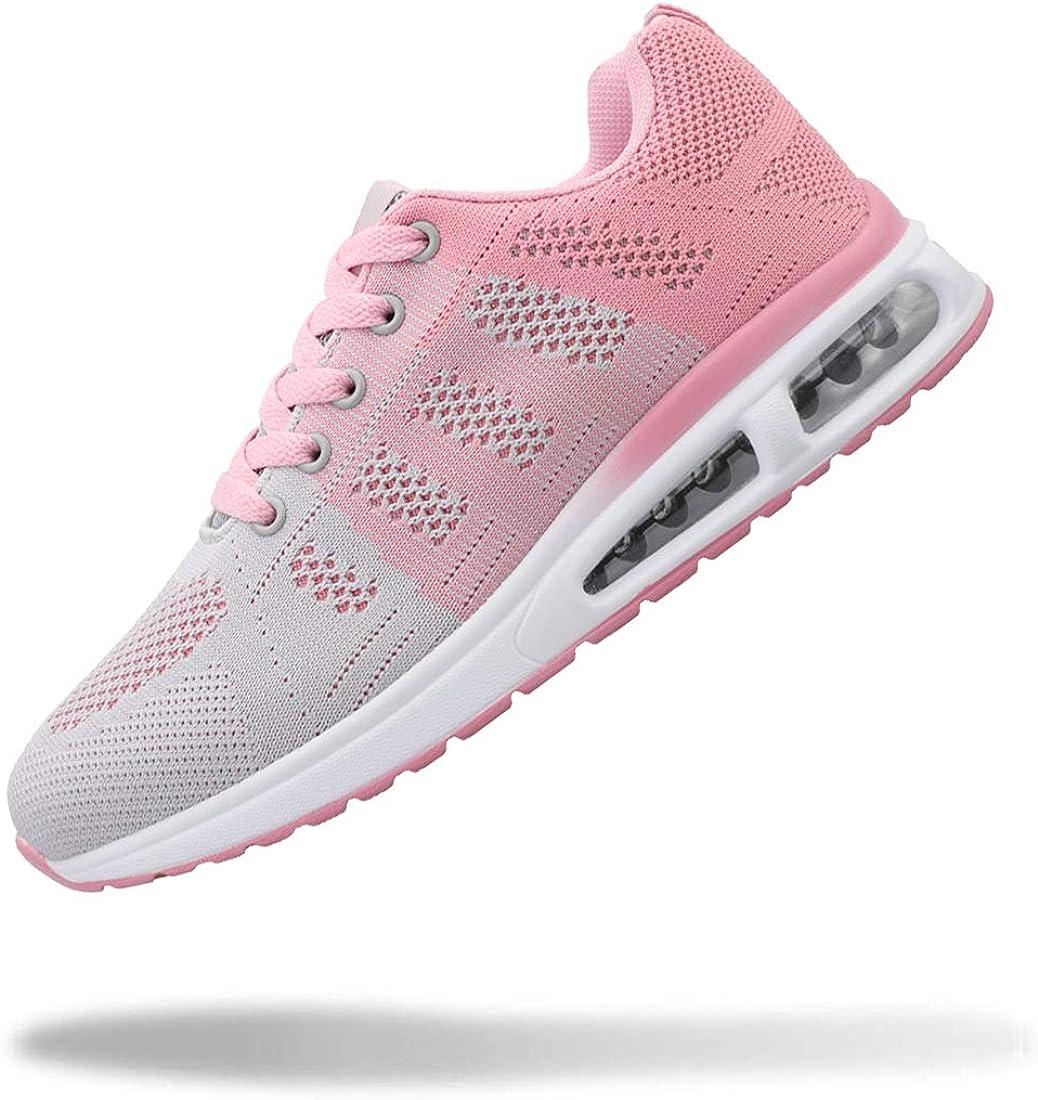 YUHUAWYH Womens Fashion Tennis Many popular brands Walking Dealing full price reduction Jogging Shoes Running Sne