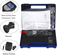 CNYST Water Activity Meter Analyzer for Food WA-60A with LCD Display Measuring Range 0 to 1.0aw