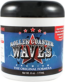 Roller Coaster Waves - Original Hair Pomade For Natural Deep Waves + Shape Control, 6 Ounces