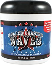 Roller Coaster Waves – Original Hair Pomade For Natural Deep Waves + Shape Control, 6 Ounces