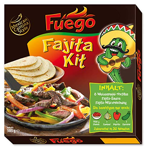 Fuego Fajita Dinner Kit, 505 g, 1130502
