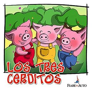 Los tres cerditos audiobook cover art