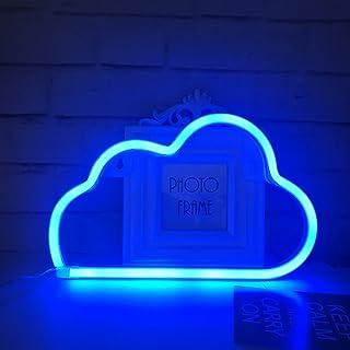 Niedliches blaues Wolken-Neonlicht für Kindergeschenk, LED-Wolken-Zeichen-Dekor-Licht, Festzelt-Zeichen/Wand-Dekoration fü...