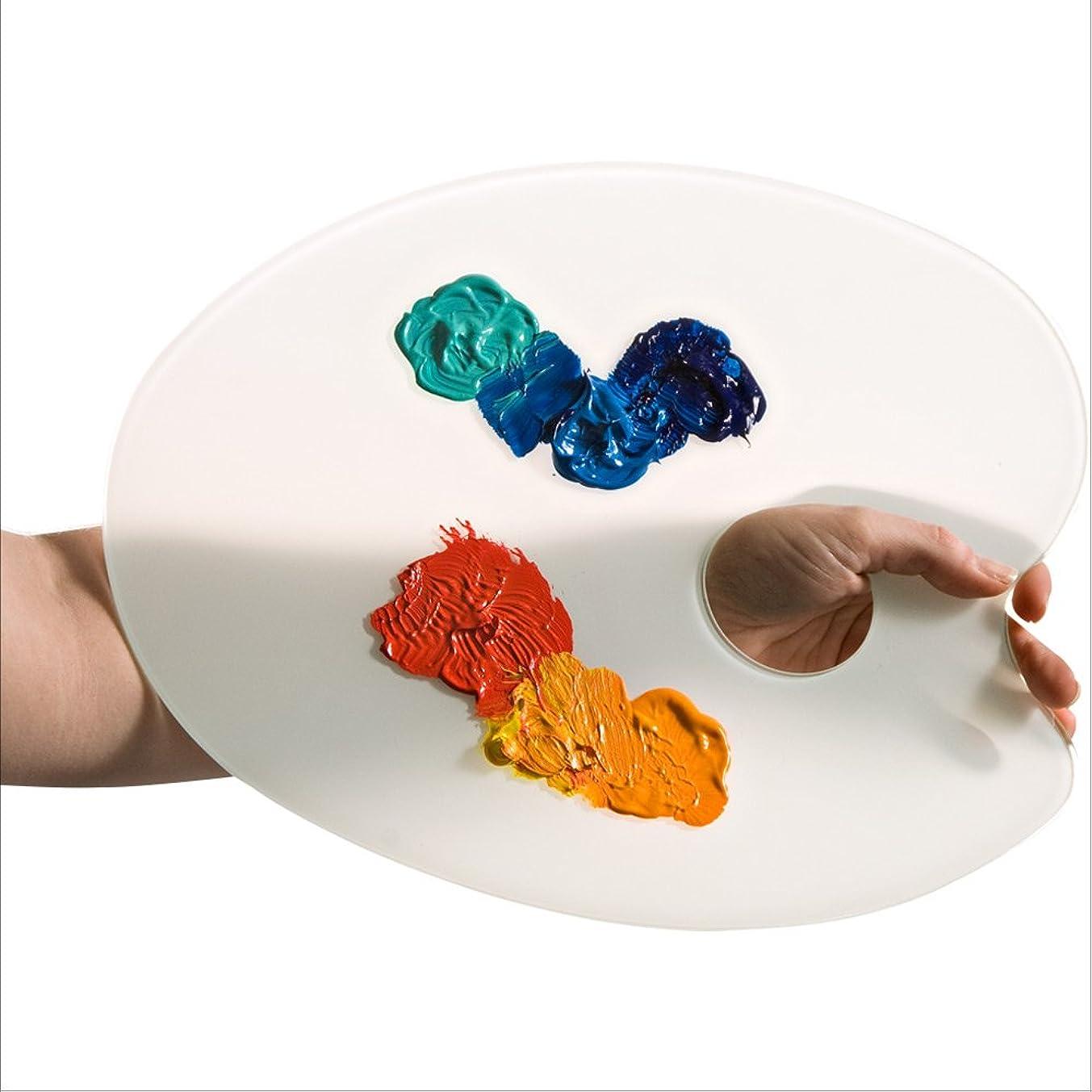 Amaco Glass Artists Palette classic palette shape