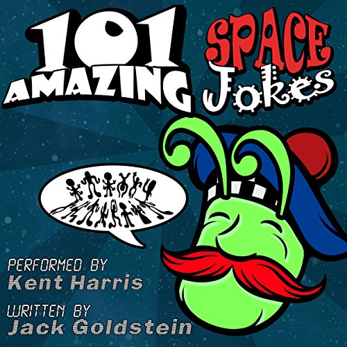 101 Amazing Space Jokes audiobook cover art