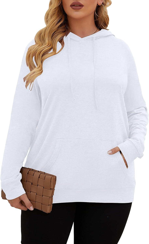 KARALIN L-4XL long sleeve plus size hoodies for women Fashion plus size womens hoodies