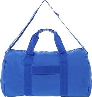 Expandable Duffle Bag Duffel, Blue, One Size