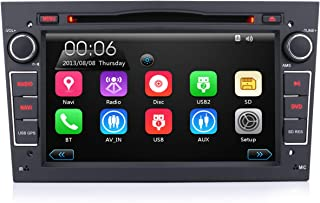 iFreGo Autoradio Für Opel Antara Astra Combo Corsa Meriva Vectra Zafira Vivaro,7 Zoll 2 Din Touchscreen Radio,Autoradio Bluetooth GPS Navigation, Autoradio DVD CD, Windows CE,Autoradio dab+ (schwarz)