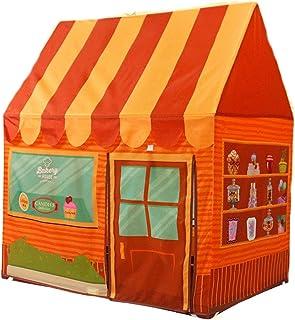 YMN Barn lektält, flickor aptité tipi-tält, med förvaringsväska eller barn baby barn leksaker inomhus utomhus (Whithout Ba...
