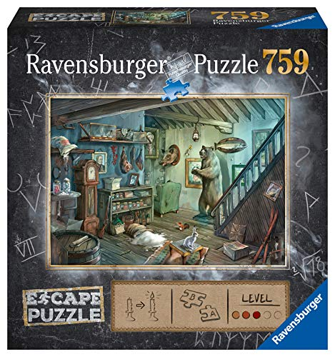 Ravensburger 164356 Puzzel Escape 8 Forbidden Basement - 759 Stukjes