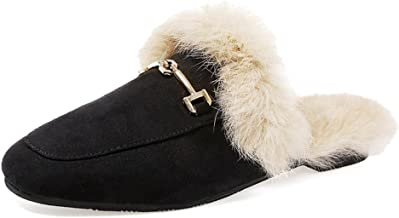 Best fur lined mule loafer Reviews