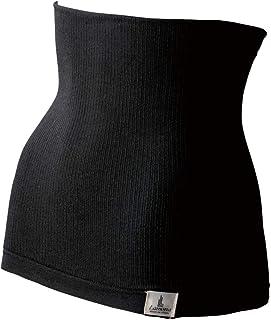 Lamona ラモナー パイル腹巻 ショート(ブラック)
