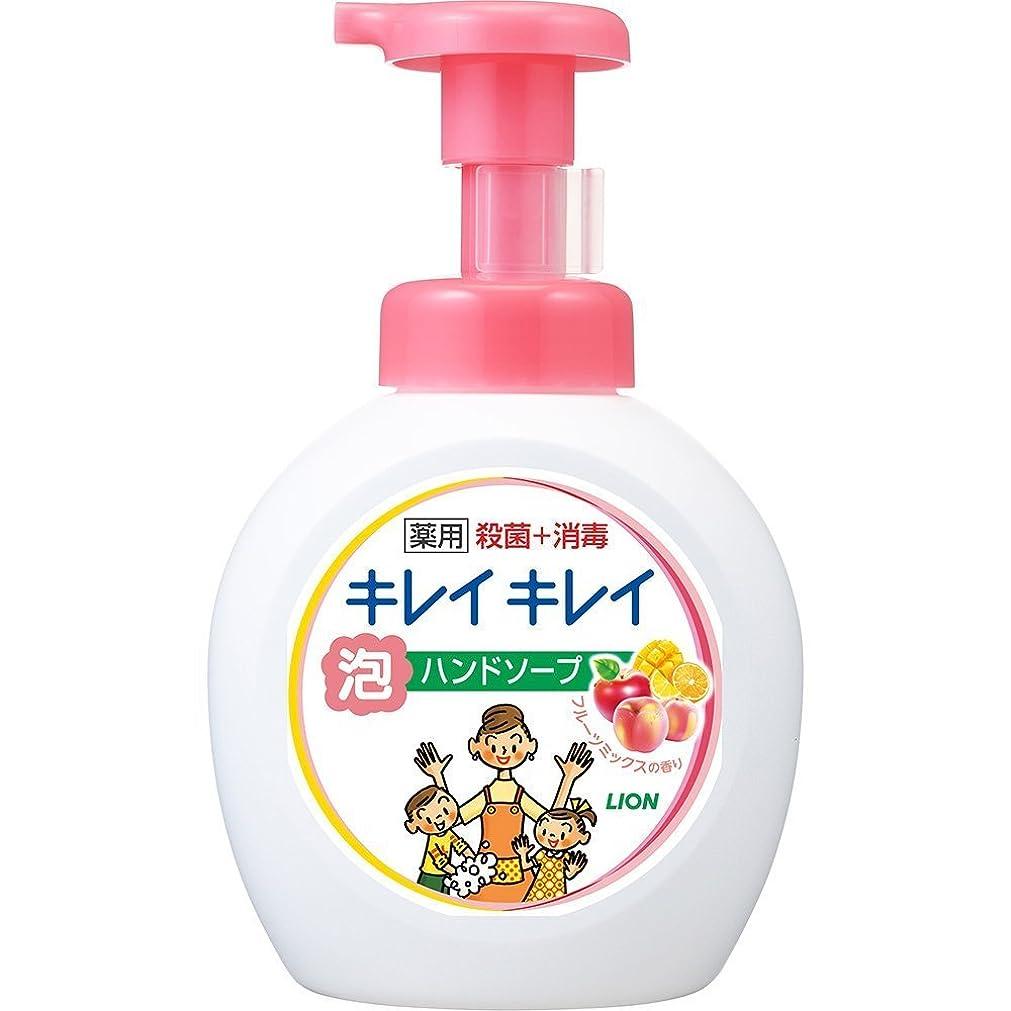 最初にマーケティングスラックキレイキレイ 薬用 泡ハンドソープ フルーツミックスの香り 本体ポンプ 大型サイズ 500ml(医薬部外品)