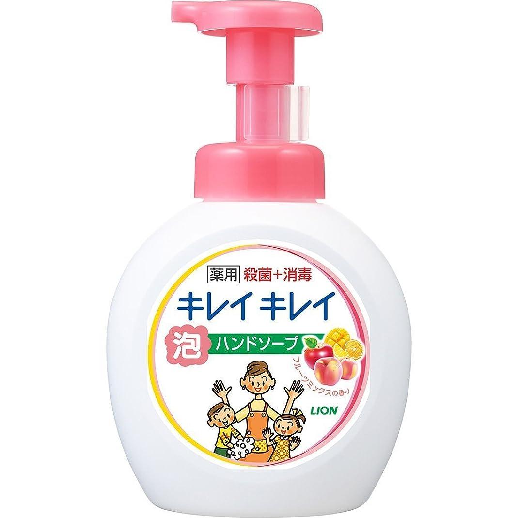 導入する扱いやすい論理キレイキレイ 薬用 泡ハンドソープ フルーツミックスの香り 本体ポンプ 大型サイズ 500ml(医薬部外品)
