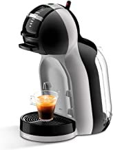NESCAFE Dolce Gusto by De'Longhi Mini Me EDG155.BG Pod Coffee Machine and Other Automaic Drinks-Black & Artic Grey, 1461 W, Arctic