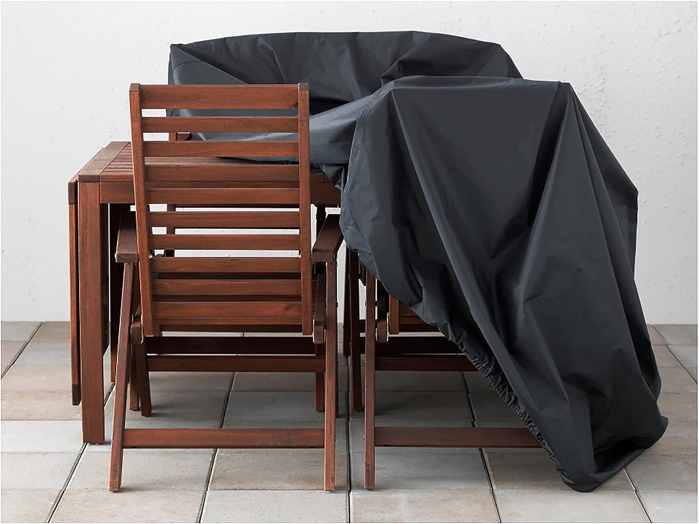 AWSAD Patio Garden Furniture Cover Leisure 100% quality warranty Finally popular brand Outdoor Heavy-Duty S