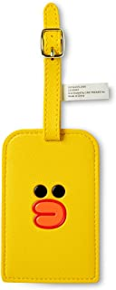 Luggage Tag - SALLY Character Name Bag Suitcase Name Holder, Yellow