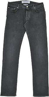 (ヤコブコーエン) Jacob Cohen ボタンフライジーンズ メンズ デニムパンツ ブラック J622 COMF-226-10279 [並行輸入品]