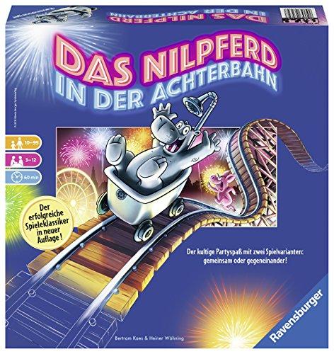 Ravensburger Spiele 26772 - Das Nilpferd in der Achterbahn