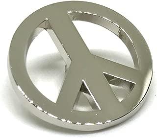 Peace Sign Symbol Lapel Pin